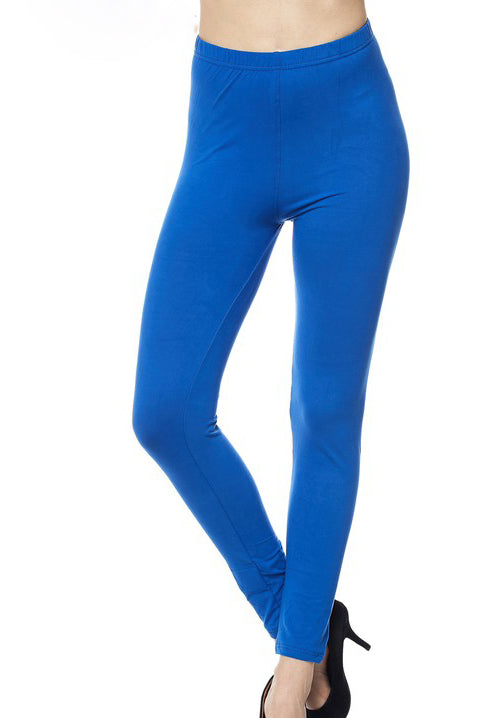 "Royal Blue Legging 1"" Waistband - Women"