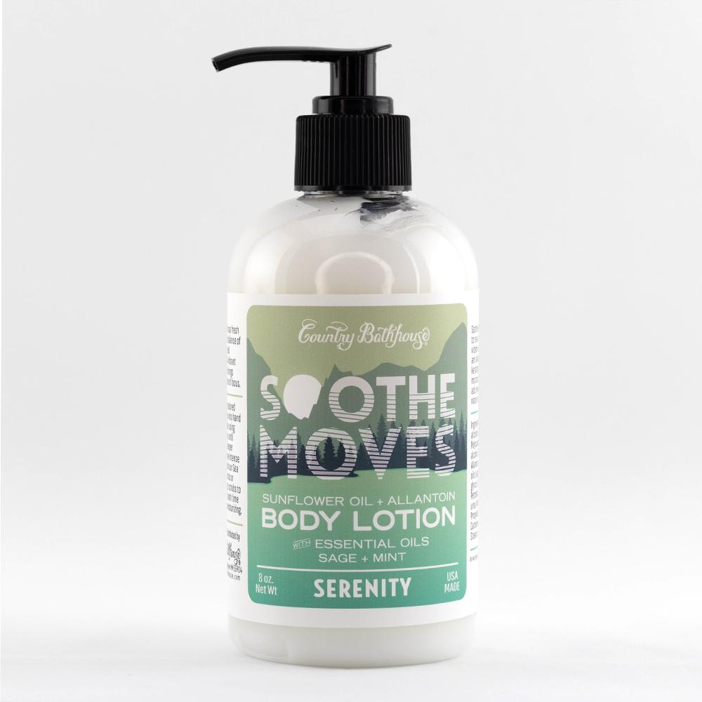 Serenity Soothe Moves Body Lotion By Country Bathhouse