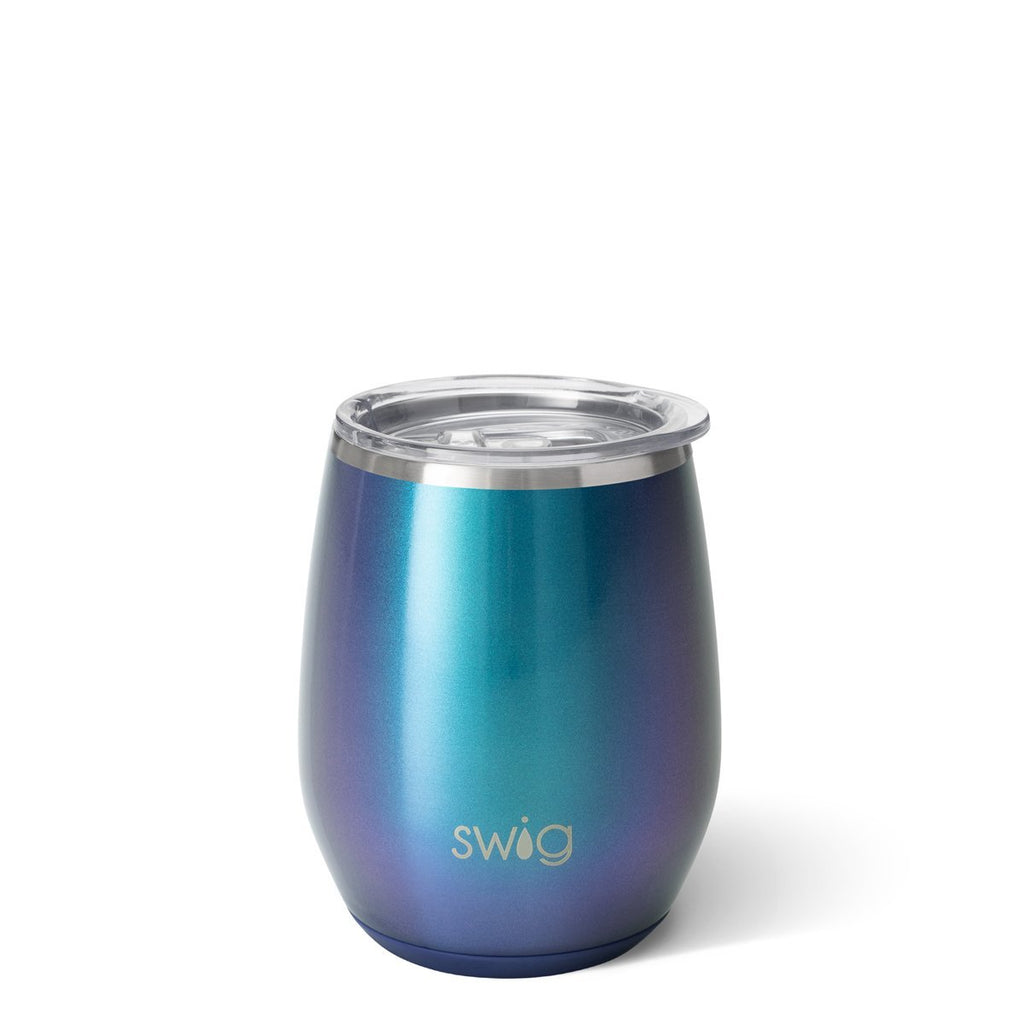 Swig Shimmer Mermaizing 14oz Stemless Wine Cup