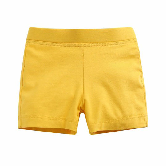 Yellow Shorties For Girls