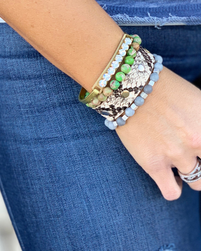 Snake Bracelet Stack For Women