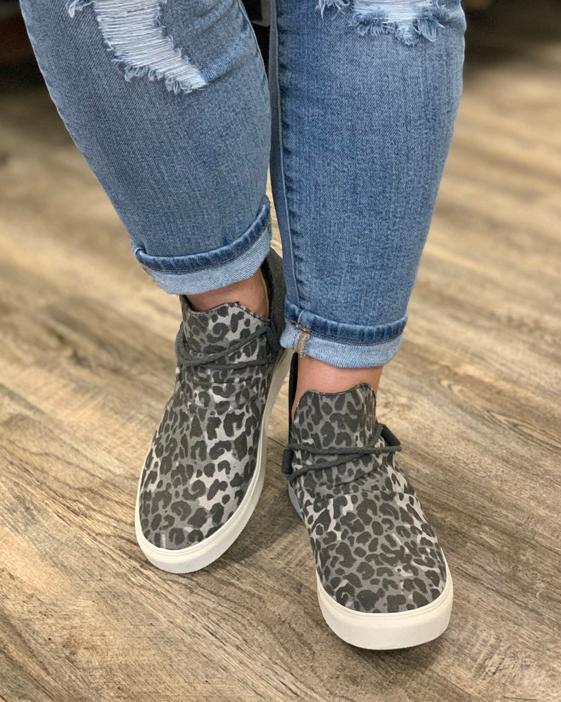 Very G Survivor Animal Print High Top
