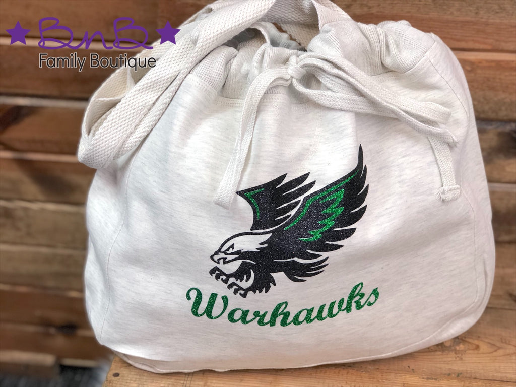 Southeast Warren Warhawks Sweatshirt Tote Bag