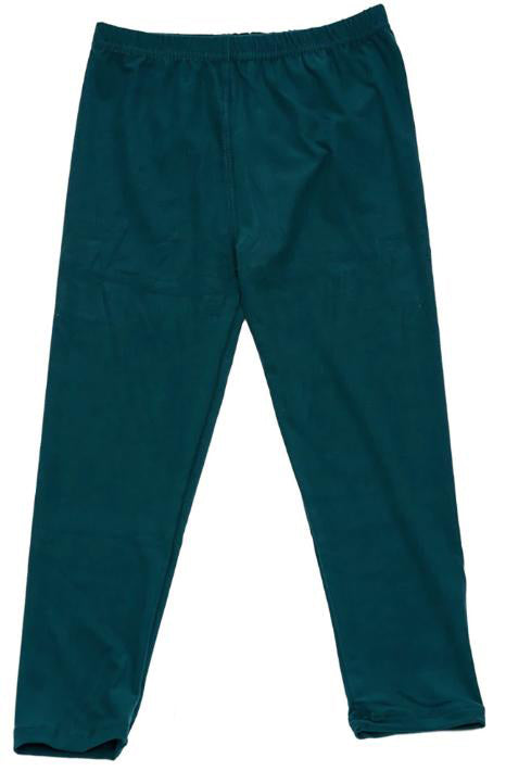 Dark Teal Legging - Girls