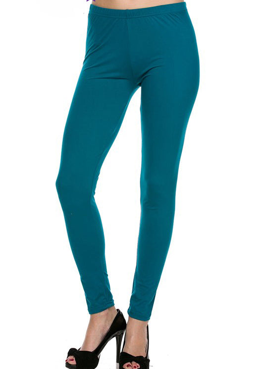 "Teal Legging 1"" Waistband - Women"