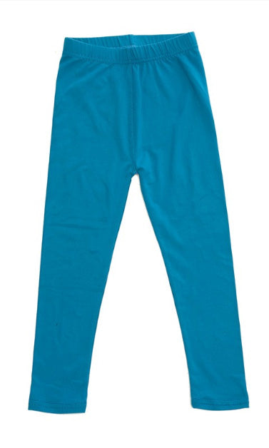 Teal Legging - Girls