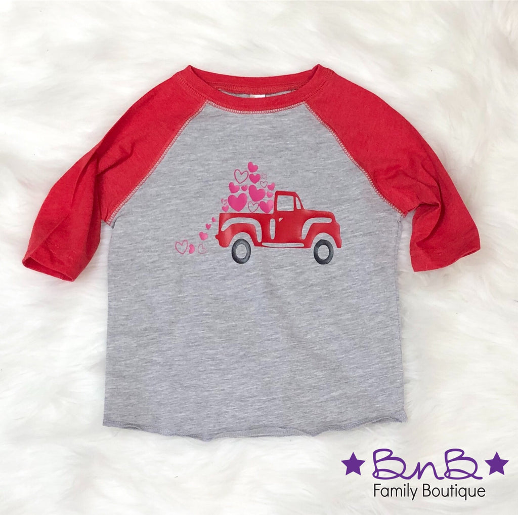 Vintage Love Truck - Toddler / Youth / Adult