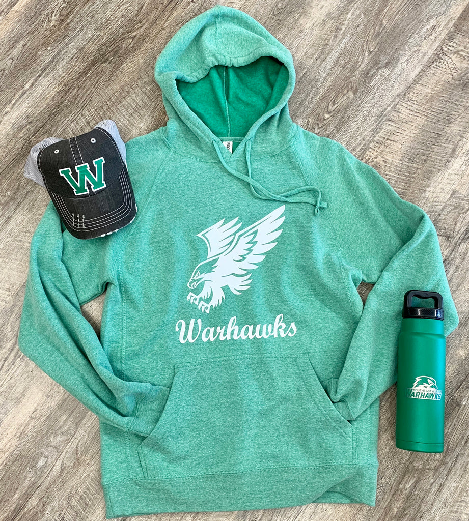 Warhawks Logo Hooded Sweatshirt For Adults