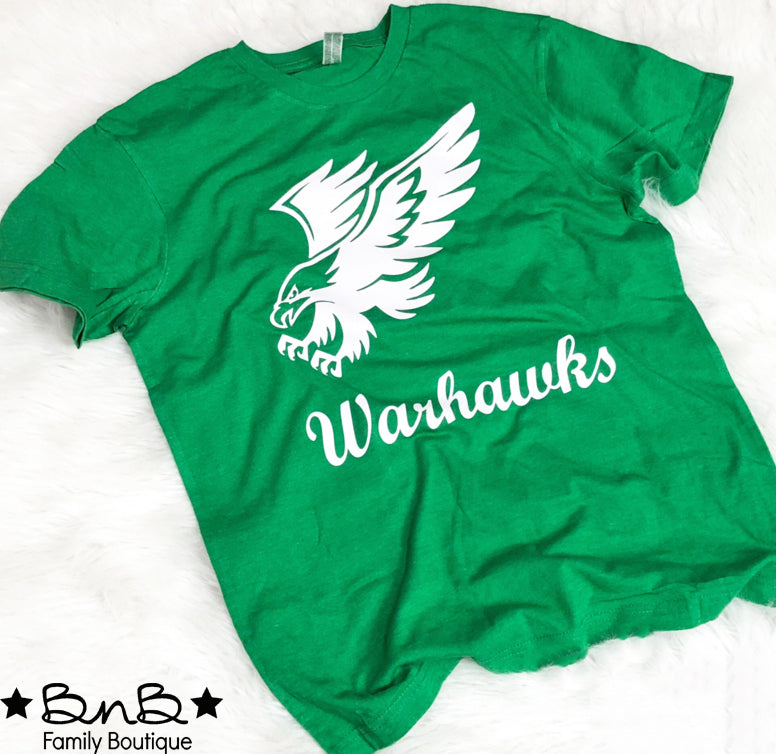 Warhwawks Graphic Tee - Kids & Adult