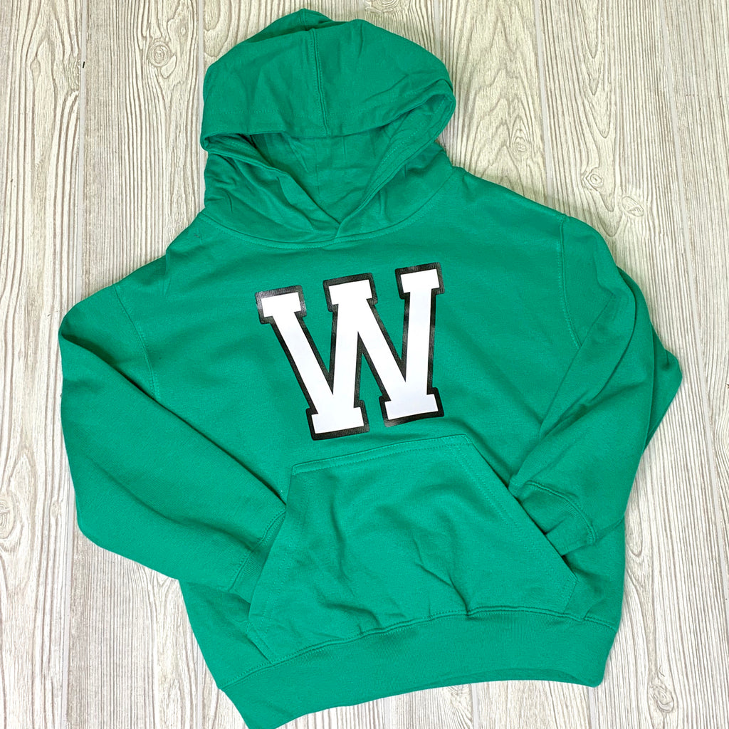 Warhawks Kelly Green Hoodie - Toddler / Youth