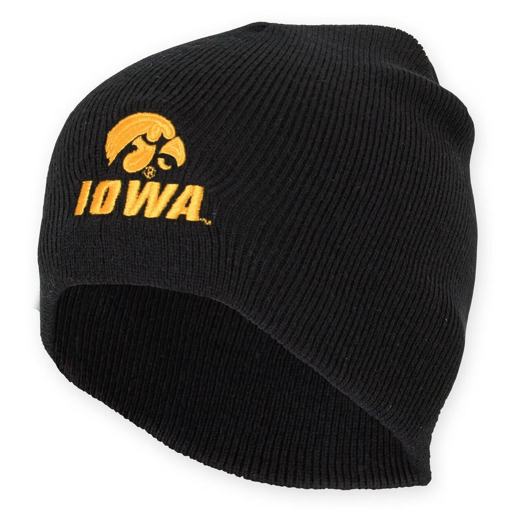 Black Iowa Beanie - Adult