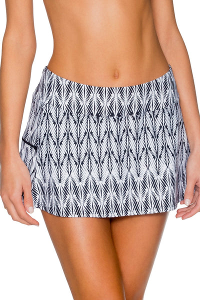 Sunsets Willow Sporty Swim Skirt