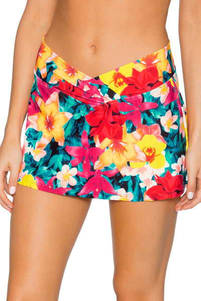 Sunsets Native Blooms Summer Lovin Swim Skirt