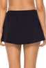 Sunsets Black Sidekick Swim Skirt