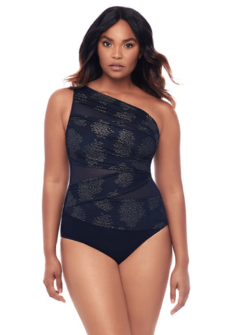 Miraclesuit Sari Not Sari Jena One Piece Swimsuit