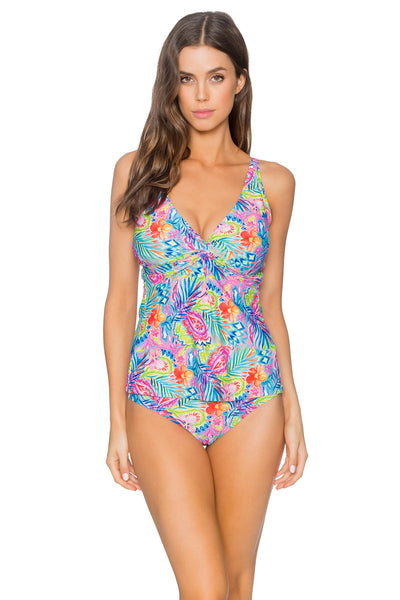 Sunsets Siesta Key Forever Tankini (D-DD Cup)