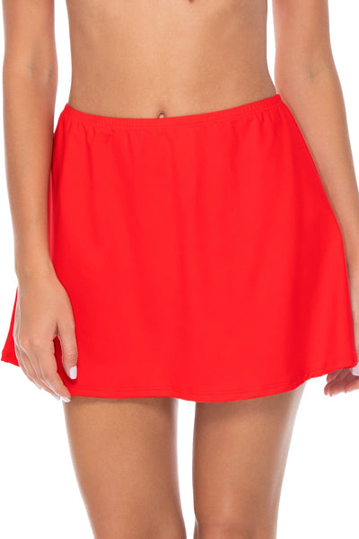 Sunsets Scarlet Del Mar Cover Up Skirt
