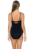 Sunsets Black Iconic Twist Tankini (EFGH Cup)