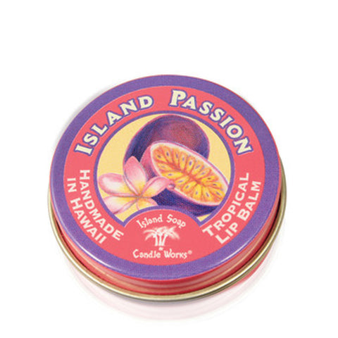 Island Soap Candle Works - Island Passion - Tropical Lip Balm SHOP NOW at Cindy's Swimwear