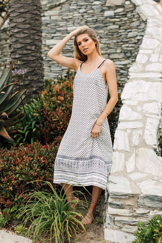 J Valdi Valencia Midi Dress