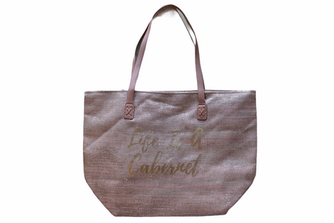 Cappelli Straw Tote Bag