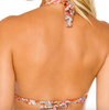 Luli Fama Andaluz Triangle Halter Top Double D