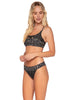 Swim Systems Black Sand Bliss Banded Bottom