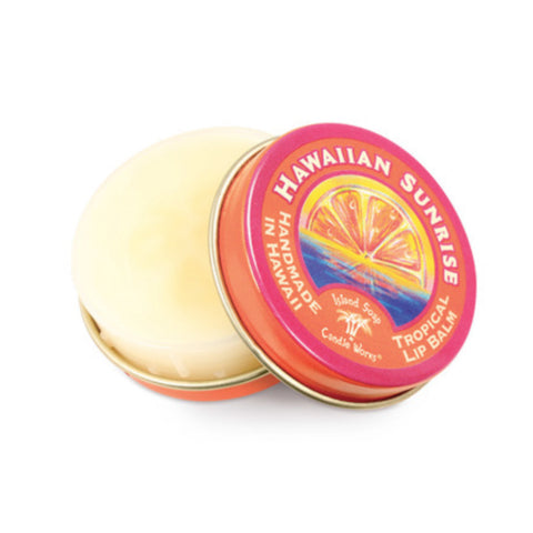 Island Soap and Candle works Hawaiian Sunrise - Tropical Lip Balm