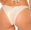 Luli Fama Gold Rush Strappy Brazilian Bottom