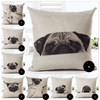 Image of Happy Puppin Pug Series II Pillow Covers