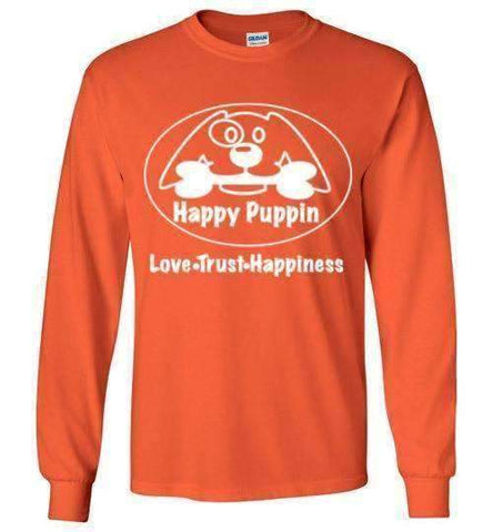 Happy Puppin Long Sleeve T-Shirt