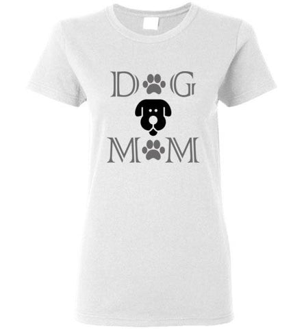 Dog Mom Ladies T-Shirt