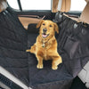 Image of 2Bexpert Dog Car Seat Cover, Pet Car Hammock, Reinforced Quilted Panels, Convertible Backseat Protector with Extra Side Flaps, Pet Seat Belt & Tote Bag