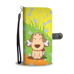 Happy Puppin Treat Phone Case Wallet
