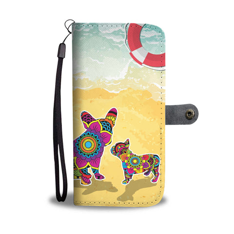 Happy Puppin Day At The Beach Phone Case Wallet
