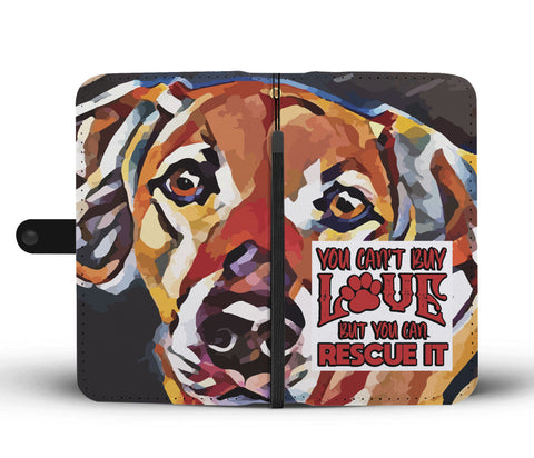 Happy Puppin Rescue It Phone Case Wallet