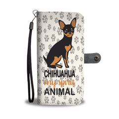 Happy Puppin Chihuahua Is My Spirit Animal Phone Case Wallet