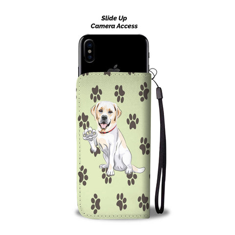 Happy Puppin Labrador Phone Case Wallet