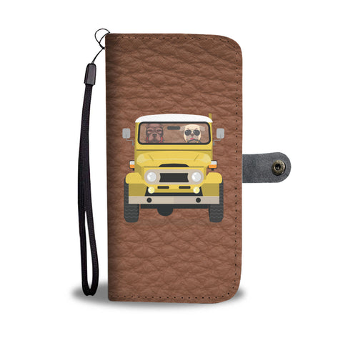 Happy Puppin Land Cruiser Phone Case Wallet