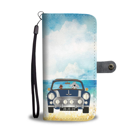 Happy Puppin Mini Phone Case Wallet