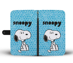 Snoopy Phone Case Wallet