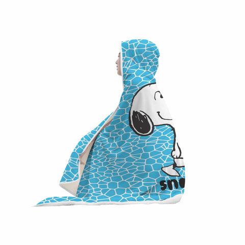 Snoopy Hooded Blanket