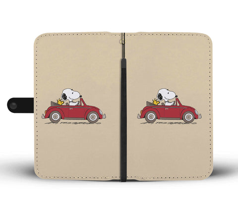 Snoopy VW Phone Case Wallet