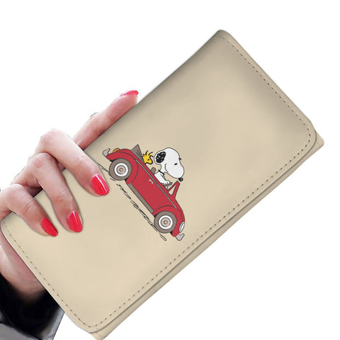 Snoopy VW Tri-Fold Wallet