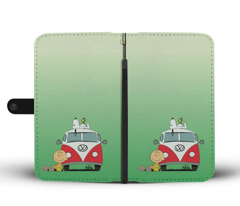 Peanuts VW Phone Case Wallet