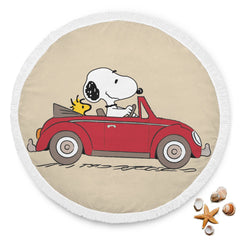 Snoopy & Woodstock Beach Blanket