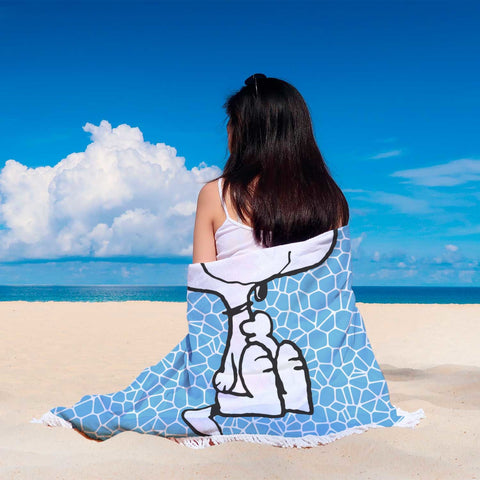 Snoopy Beach Blanket