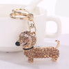 Image of Dachshund Crystal Key Chain