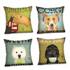 Image of Happy Puppin Music Series Pillow Covers