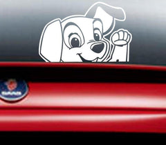 Cute Dog Waterproof Car Sticker